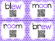 Diphthongs with QR Codes for OO and EW