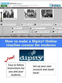 Dipity: Online Timeline Creator