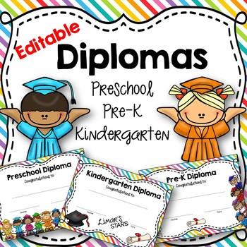 pre k diplomas teaching resources teachers pay teachers