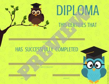 Diploma - Birds