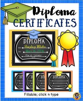 Diploma Certificates