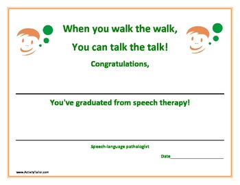 what is speech therapy pdf