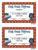 End of the Year Diplomas (Preschool, Kindergarten, First G