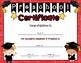 Diplomas/Certificates for Preschool