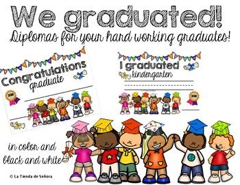 Diplomas - English