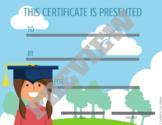 Diplomas - Girl and Boy