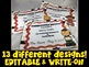 Graduation Diplomas - Kindergarten EDITABLE & WRITE-ON