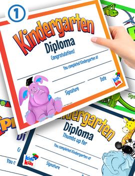 Diplomas- Kindergarten and Preschool