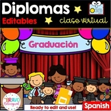 Diplomas de fin de año- Spanish - Distance Learning