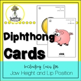 Diphthong Cards - Speech Therapy and Apraxia of Speech Activities