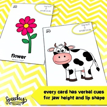 Diphthong Cards FREEBIE - Speech Therapy and Apraxia of Speech Activities