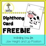 Diphthong Cards FREEBIE