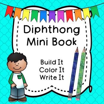 Diphthong Phonics Word Book