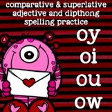 Dipthong Practice - ow, ou, oi, oy - 2nd Grade Spelling -