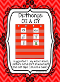 Dipthong Sort: OI  & OY (Color and B&W)