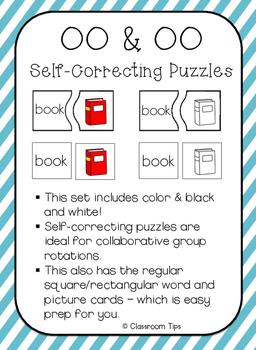 Dipthong Sort: OO  & OO -- Self-Correcting Puzzles