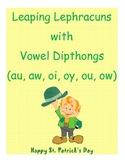 Dipthong Sort (au, aw, ou, ow, oi, oy) Leaping Leprechauns