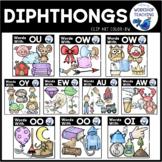 Diphthongs Clip Art - Whimsy Workshop Teaching
