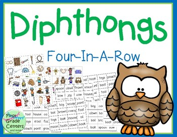 Diphthongs Four in a Row