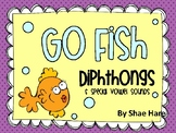 Diphthongs {Go Fish} Word Work [Reading] Station Center Game