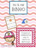 Dipthongs: OU  & OW BINGO (Color and B&W)