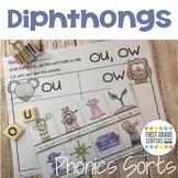 Diphthongs Phonics Sorts