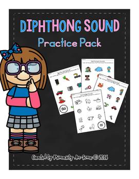 Dipthongs Sounds Practice Packet