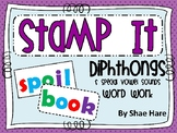 Diphthongs {Stamp It} Word Work [Reading] Station Center Printable