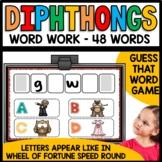 Diphthongs (au, aw, ew, oi, oo, ou, ow, oy) Practice