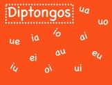 Diptongos - Interactive Whiteboard Presentation