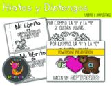 Diptongos y Hiatos Booklet and PowerPoint