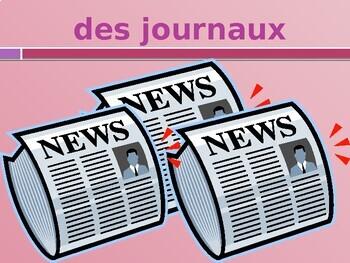 Dire, Écrire, Lire French verbs PowerPoint