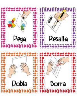Direcciones de imagen (Picture Directions SPANISH)
