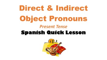 Direct AND Indirect Object Pronouns in Spanish: Multiple P