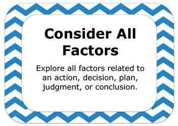 Direct Attention Thinking Tool (DATT) Posters