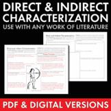 Direct & Indirect Characterization PDF & Google Drive, Use