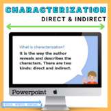 Direct & Indirect Characterization Powerpoint