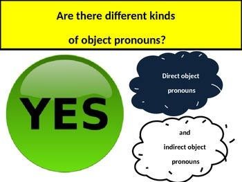 """Direct, Indirect , Double Object Pronouns and  Personal """"A"""" with medical vocab"""