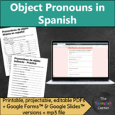Direct, Indirect & Double object pronouns in Spanish grammar practice