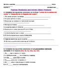 Direct & Indirect Object Pronoun Practice (Avancemos U1L1)