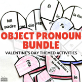 Direct Indirect and Double Object Pronoun Valentine's Theme BUNDLE