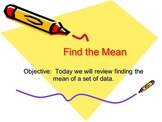 Direct Instruction Lesson on Finding the Mean