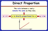 Direct & Inverse Proportion