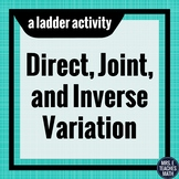 Direct, Joint, and Inverse Variation Ladder Activity