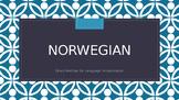 Norway, Norwegian and Jan Brett