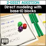 Direct Modeling for 2-Digit Addition: Print/Digital