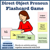 Direct Object Pronoun Hands-on Activity