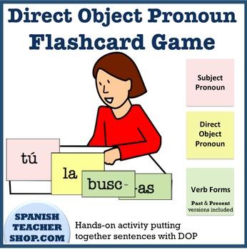 Direct Object Pronoun Hands-on Activity