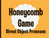 Spanish Direct Object Pronoun Honeycomb Partner Game