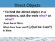 Direct Object Pronoun Lesson (Complementos Directos)